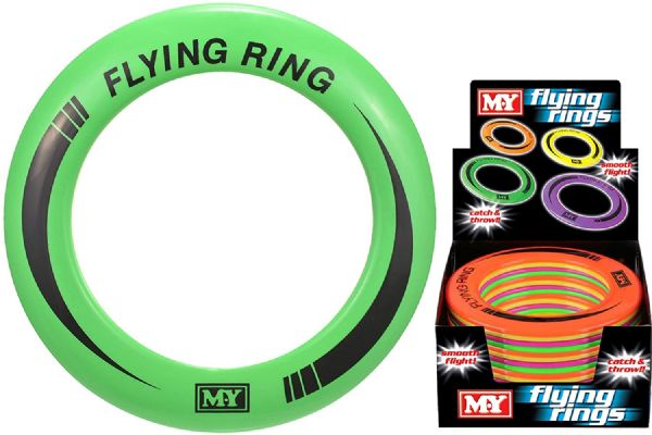TY0415 M.Y Flying Ring - Colour Throwing Ring